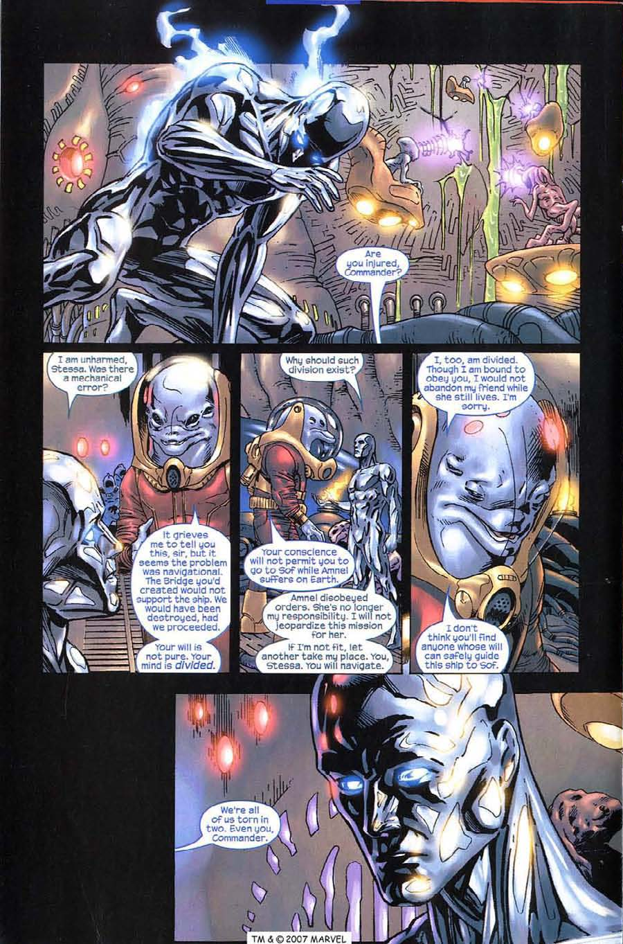 Read online Silver Surfer (2003) comic -  Issue #11 - 10