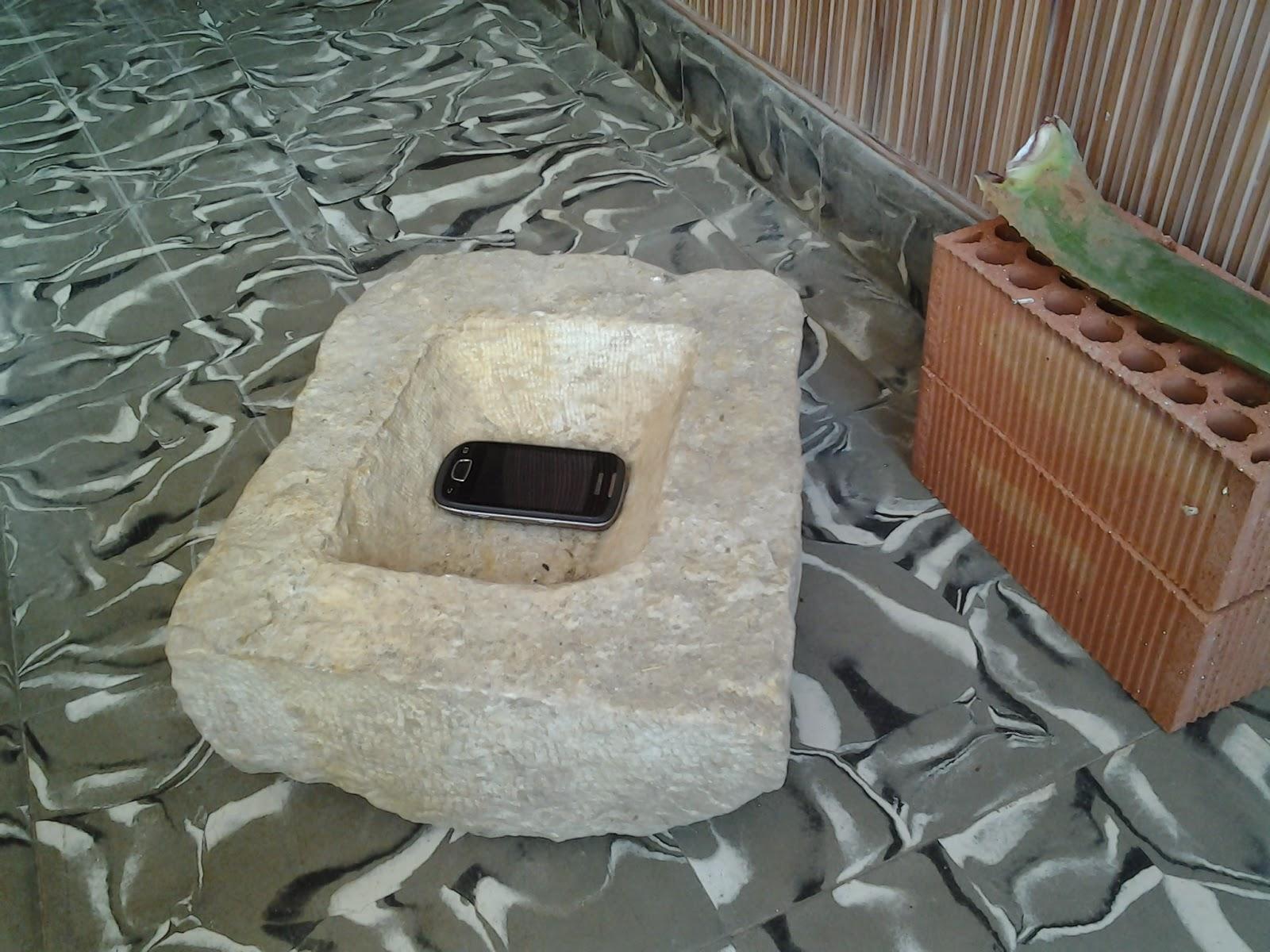 Decorar Con Pilas De Piedra Antigua