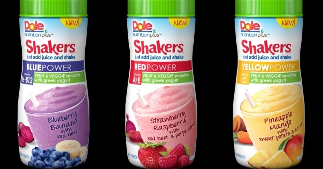 News Dole New Power Smoothie Shakers Brand Eating