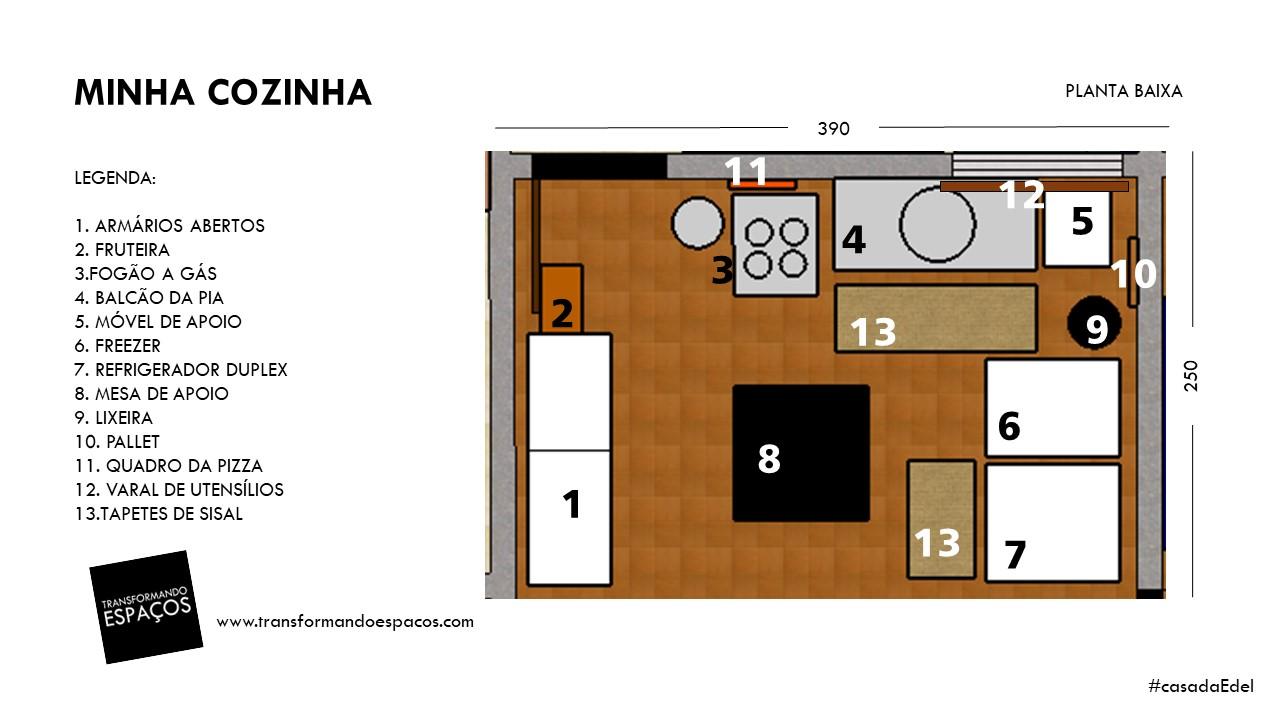 Cozinha Em Planta Baixa Figura Planta Baixa Do Residencial Canto