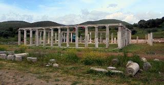 η Παλαίστρα στην Αρχαία Μεσσήνη