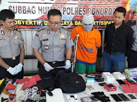 Melawan Petugas, 1 Pembobol Konter HP Sabar Jaya di Jetis Didor