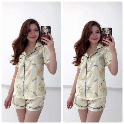 Đồ bộ short pijama dễ thương cho bạn gái