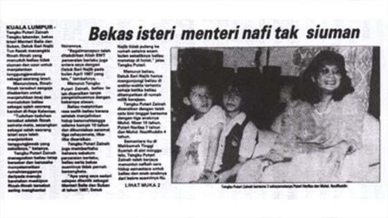 Kisah Isteri Pertama Najib Razak, Ku Yie