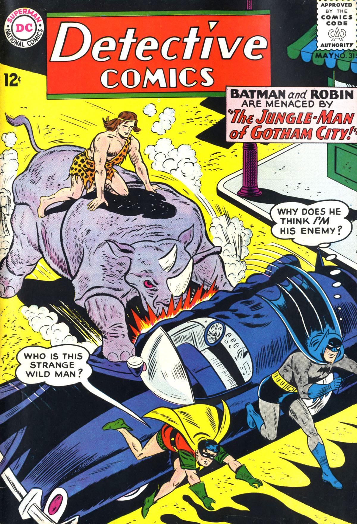 Detective Comics (1937) 315 Page 1