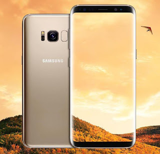 Gambar Samsung Galaxy S8 tanpa tombol home