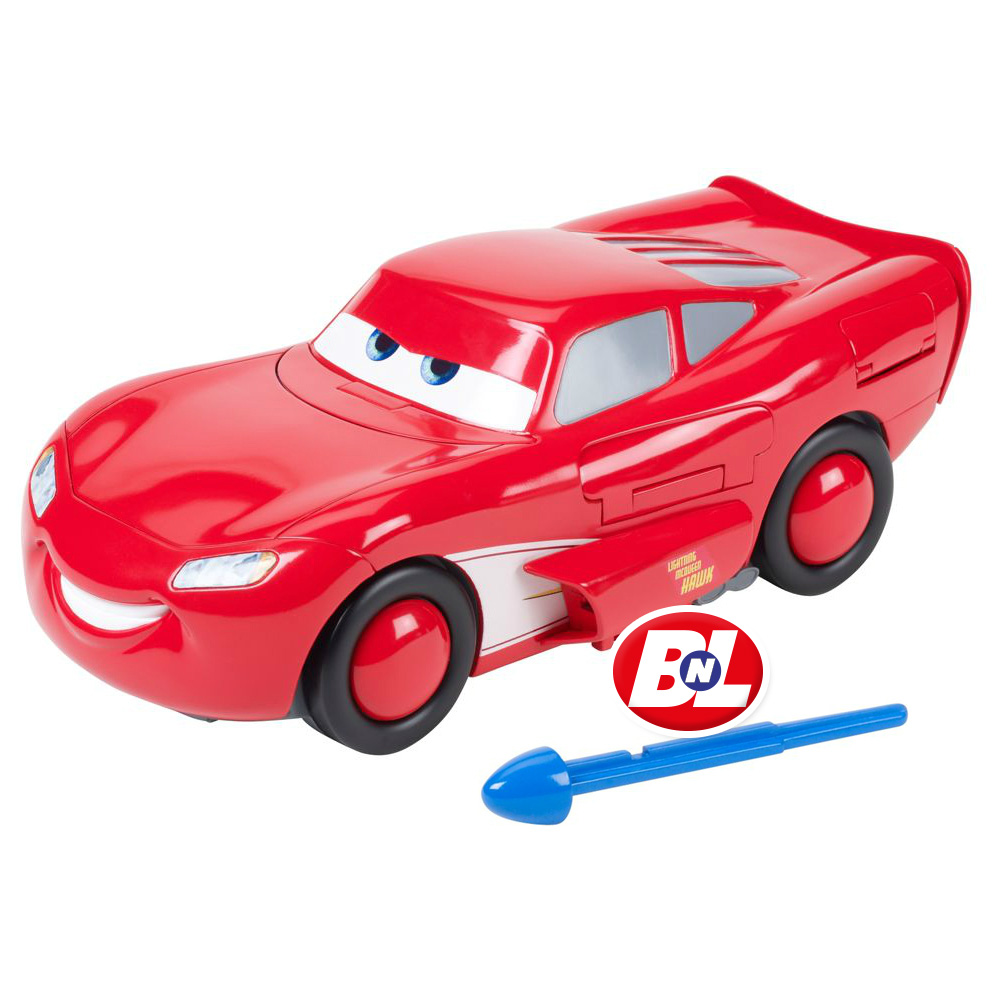 Welcome On Buy N Large Cars 2 Lightning Mcqueen Silver: WELCOME ON BUY N LARGE: Cars Toon: Air Mater