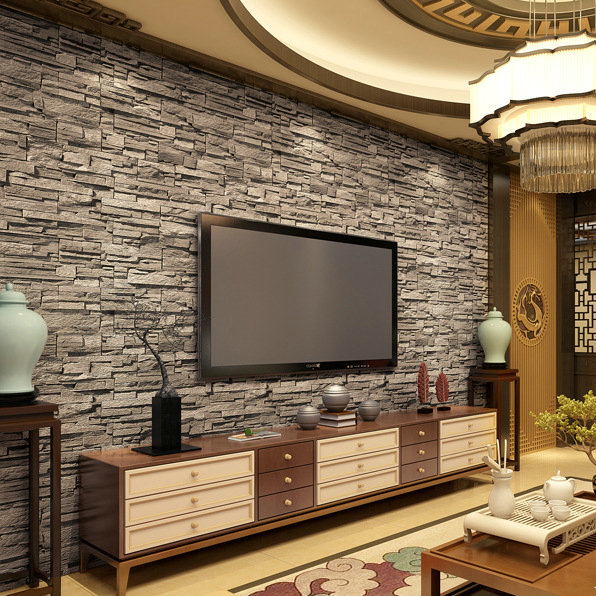 Dwell Of Decor 20 Wonderful Tv Wall Units With Stones Ideas