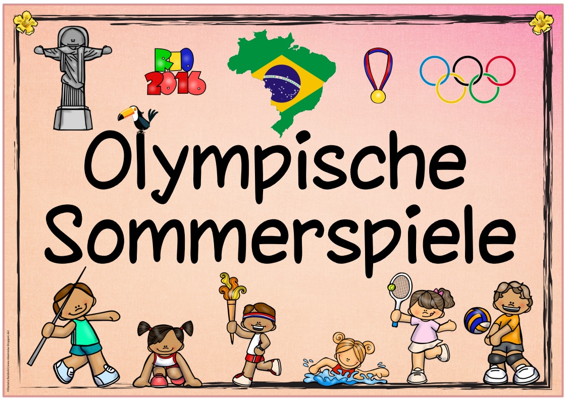 ideenreise themenplakat olympische sommerspiele. Black Bedroom Furniture Sets. Home Design Ideas
