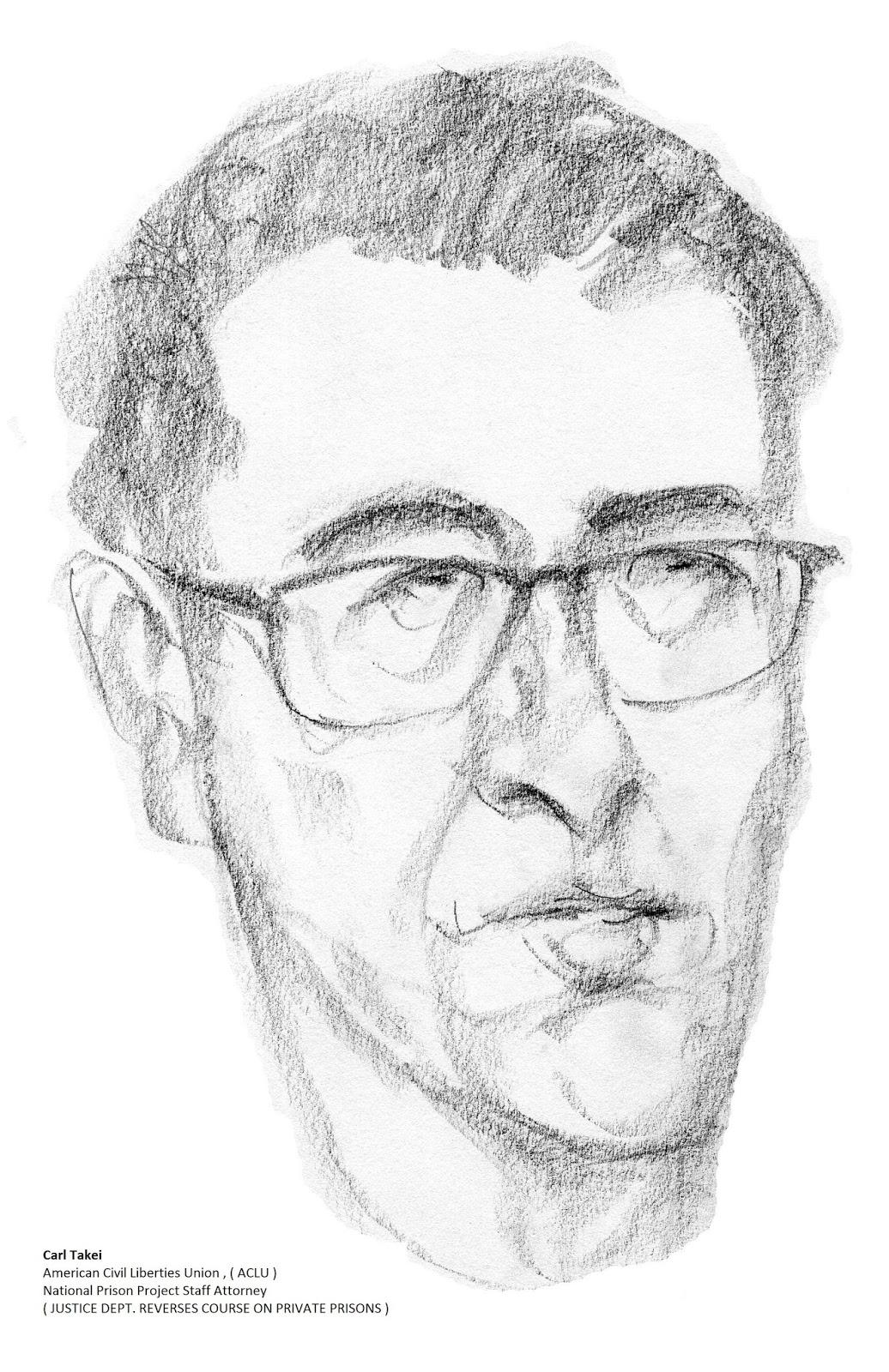 daily drawings: Carl Takei