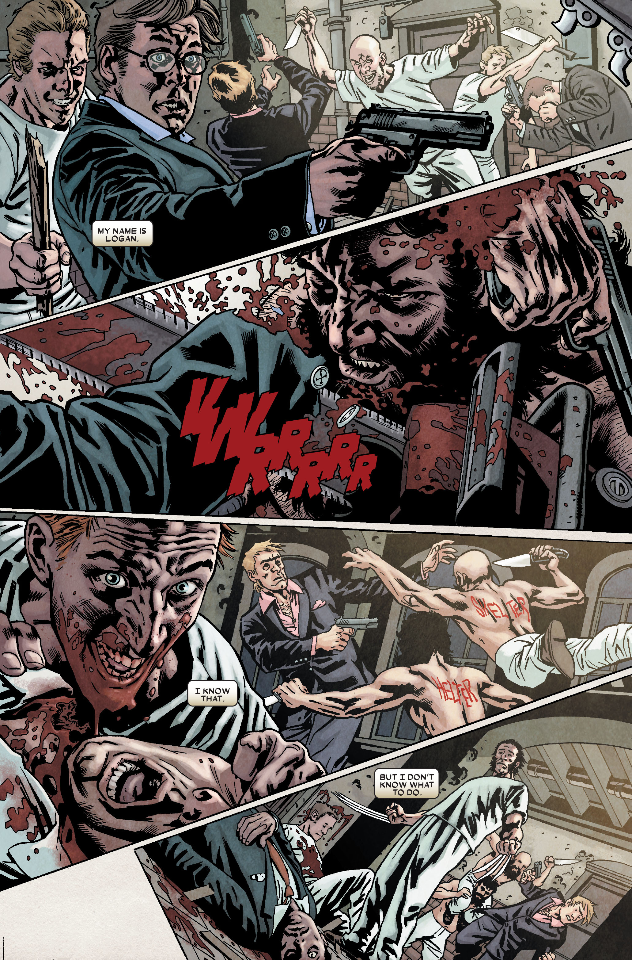 Read online Wolverine: Weapon X comic -  Issue #9 - 9