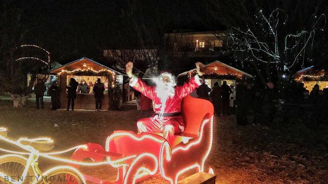 Χριστουγεννιάτικο Χωριό του Κόσμου, Κατερίνη. (17-12-16). Και το πρόγραμμα της σημερινής ημέρας (18-12-16).
