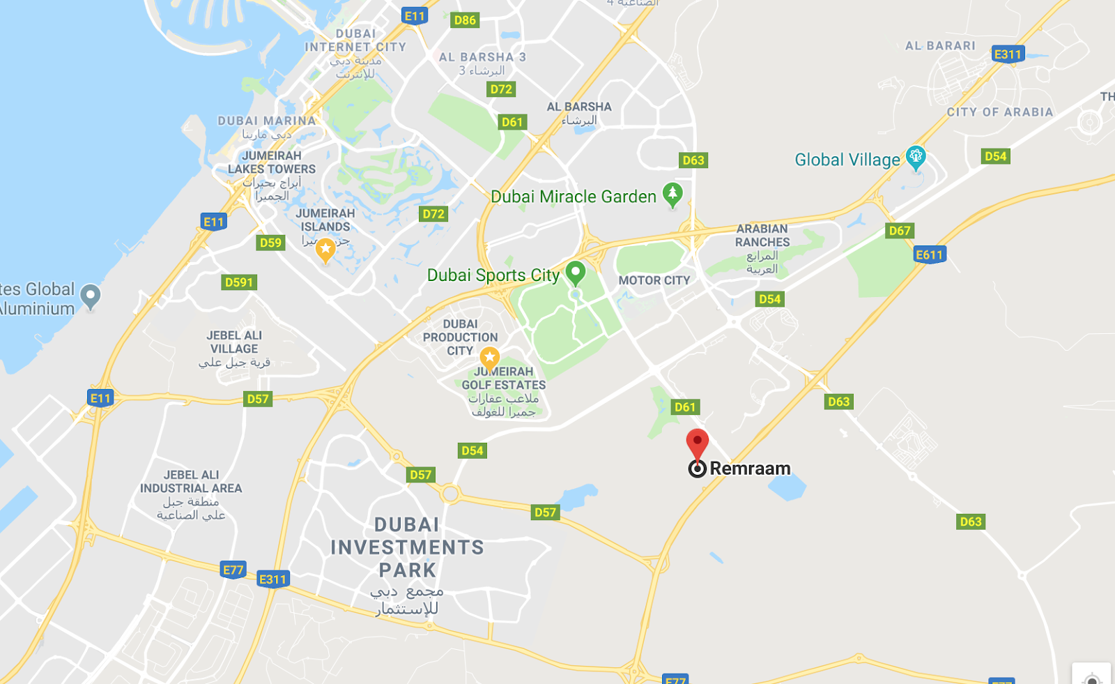 Remraam location map dubai investment fxdd forex live
