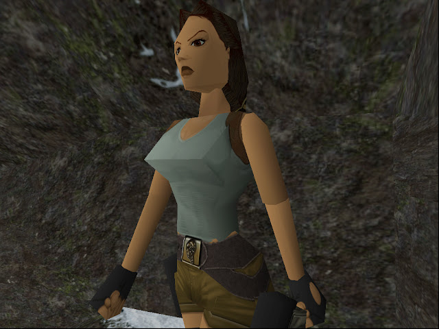 MeuXP Retro: Aventuras poligonais de alto risco com Tomb Raider.