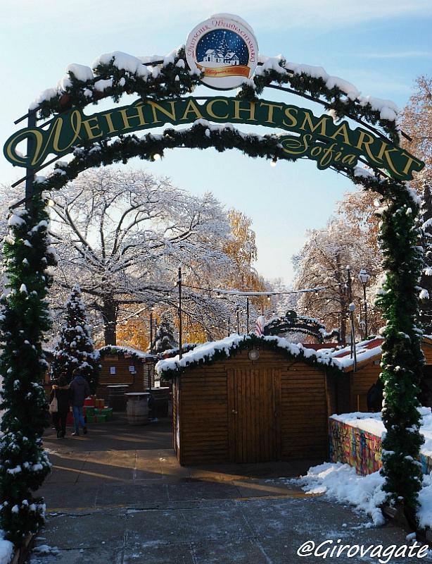 I mercatini tedeschi di Natale di Sofia e la citt
