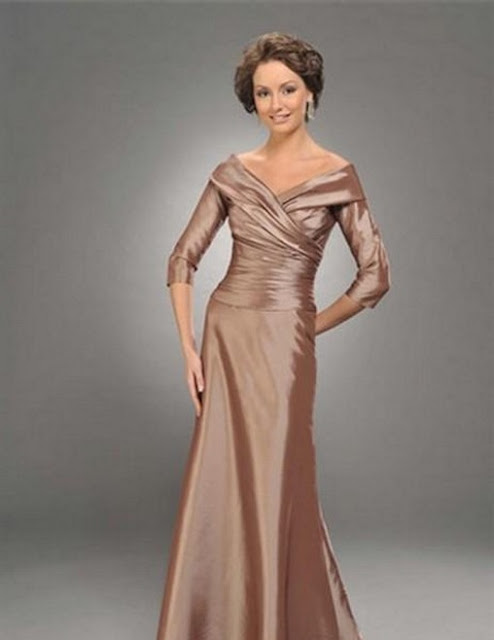 Image result for brown colour dress photo