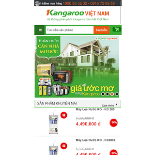 template blogspot bán hàng điện máy