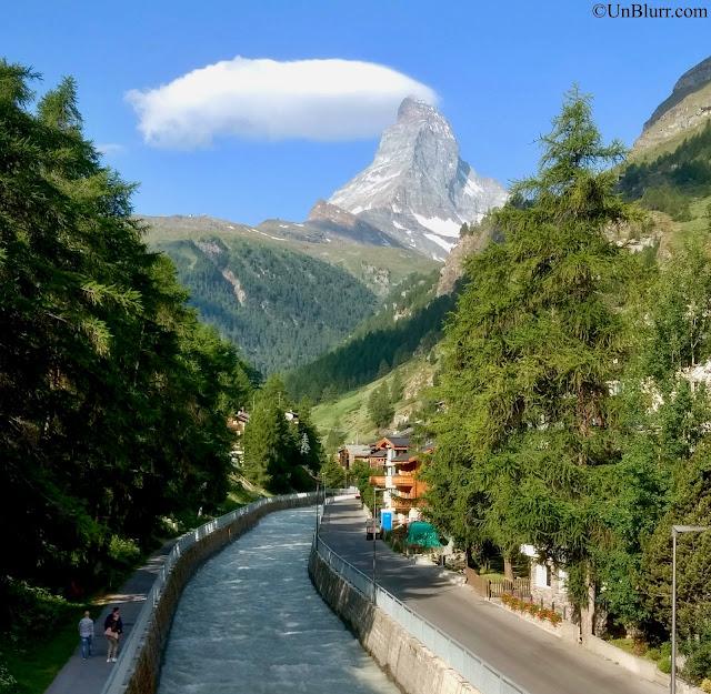 View of Matterhorn in Zermatt, Switzerland