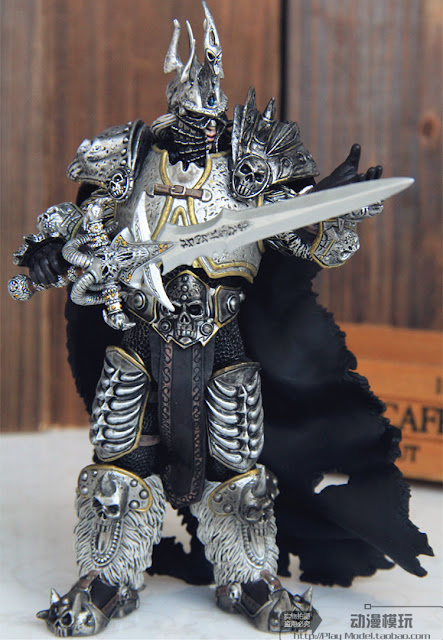 Jual Action Figure Fall Of The Lich King Arthas World Of Warcraft