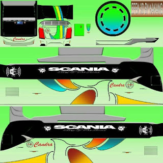 Livery PNG Jernih Bus Simulator Indonesia Part 4