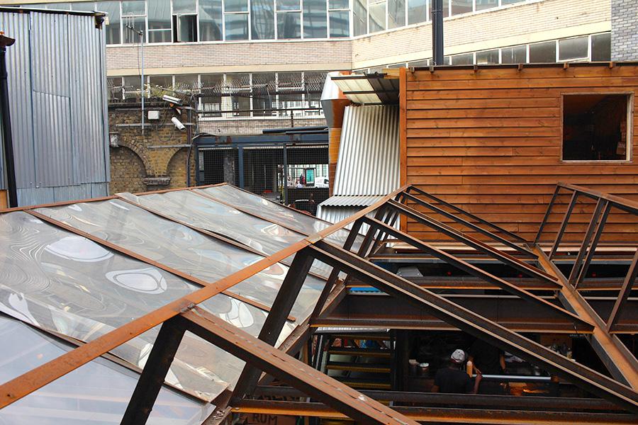 shoreditch, east london, london street, Dinerama, shoreditch pavillion bar, london, east london, rooftop,