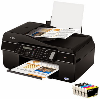 FN inkjet multifunction is an extremely affordable agency to impress documents over a network Epson Stylus Office TX510FN Driver Downloads