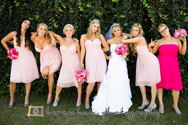 The movie Bridesmaids inspire many brides and their maids...