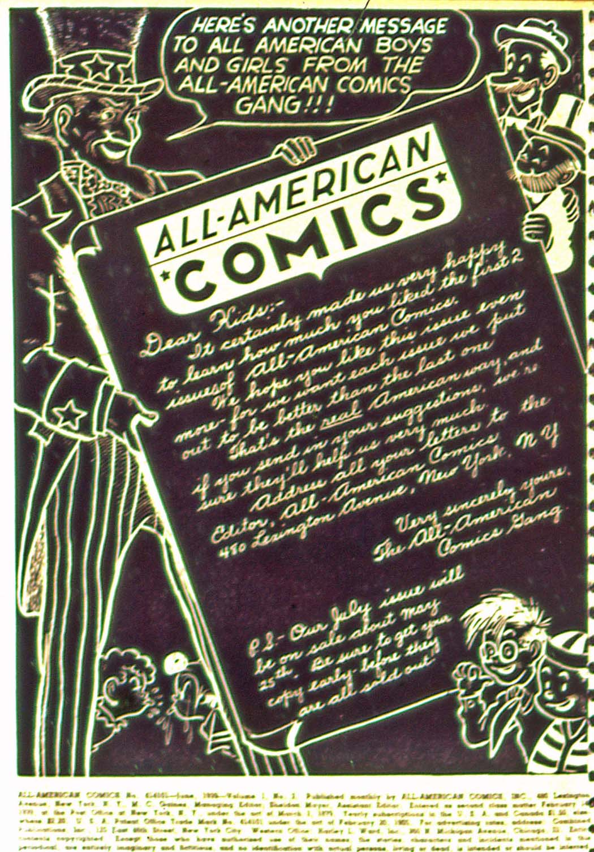 All-American Comics (1939) 3 Page 2