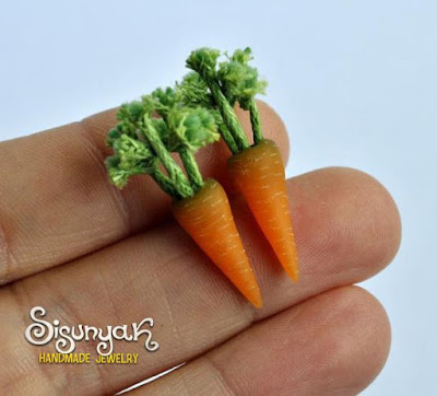 Carrots Earrings
