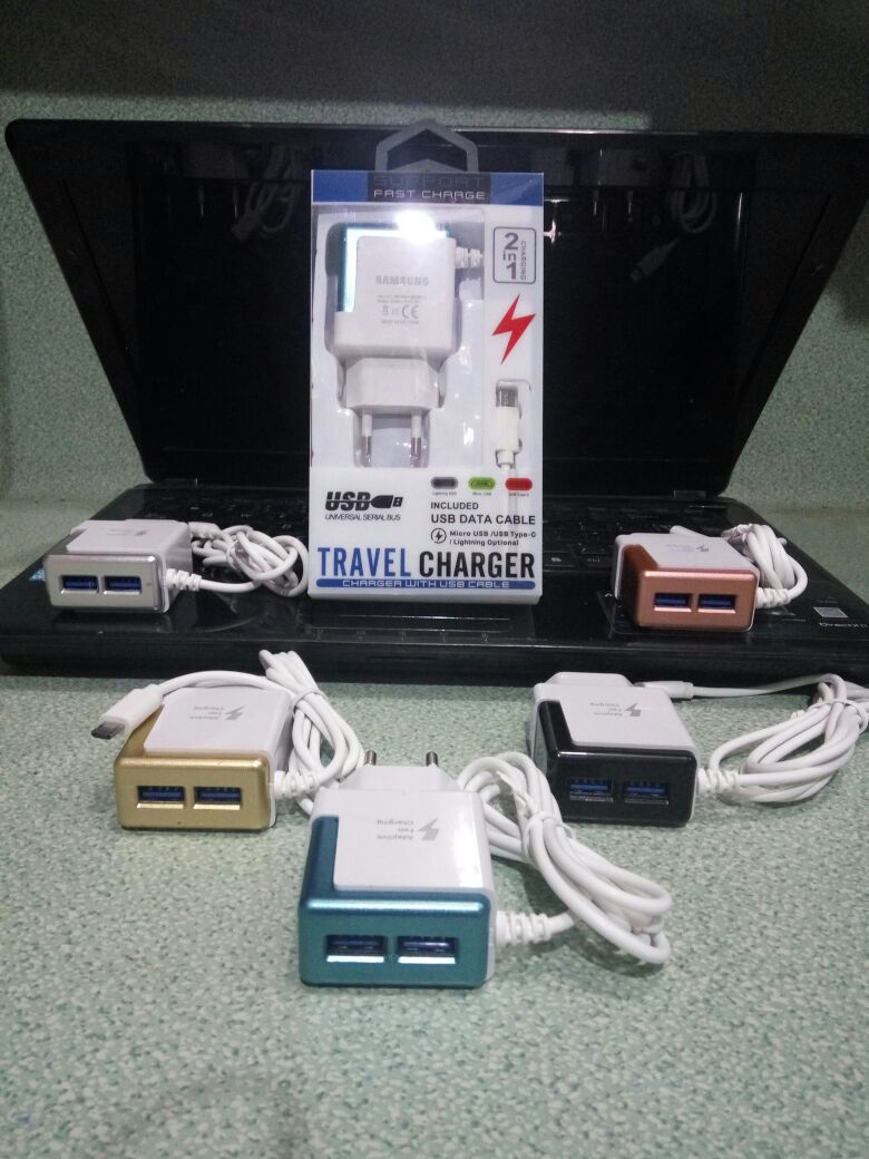 CHARGER SAMSUNG 3 OUTPUT FAST CHARGING REAL MAH