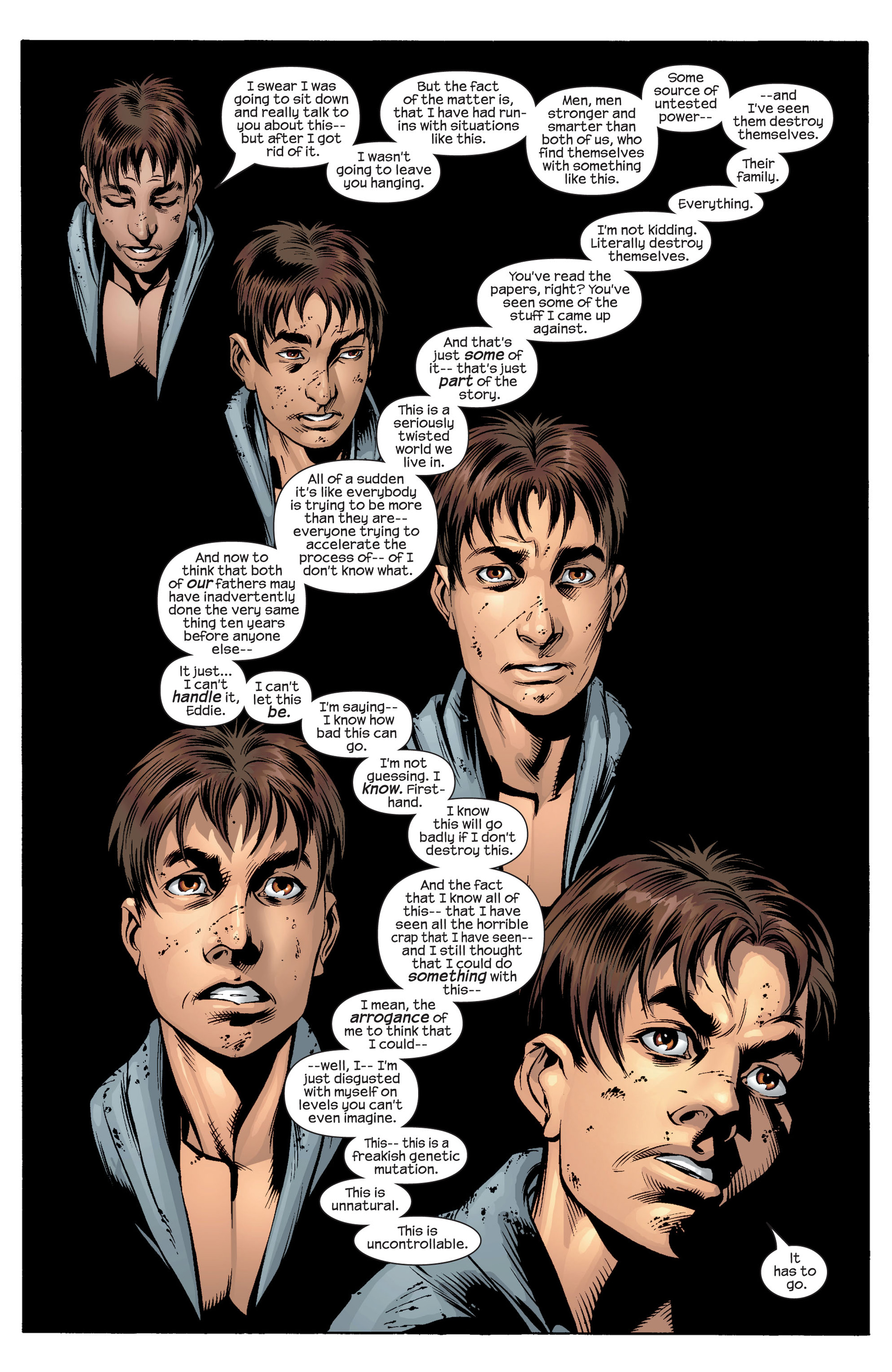 Read online Ultimate Spider-Man (2000) comic -  Issue #36 - 12