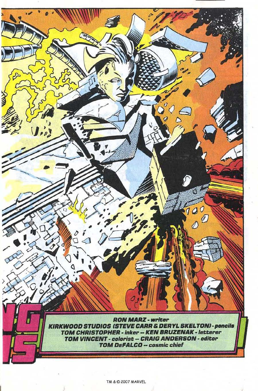 Silver Surfer (1987) issue 66 - Page 5