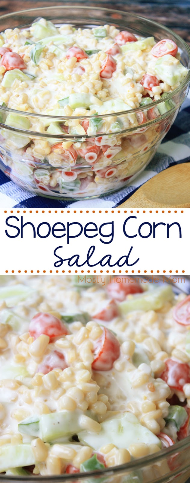 Shoepeg Corn Recipe