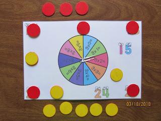 Multiplication Bump Facts Fluency