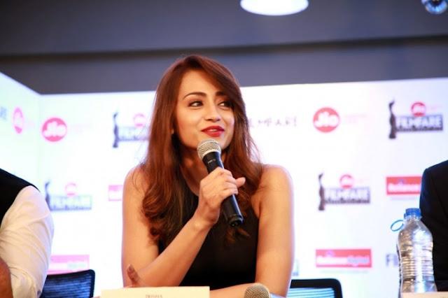 Trisha Krishnan Picture At Jio 65th Filmfare Awards Press Meet