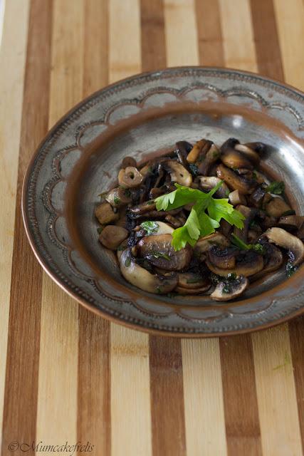 ricetta dei champignon trifolati