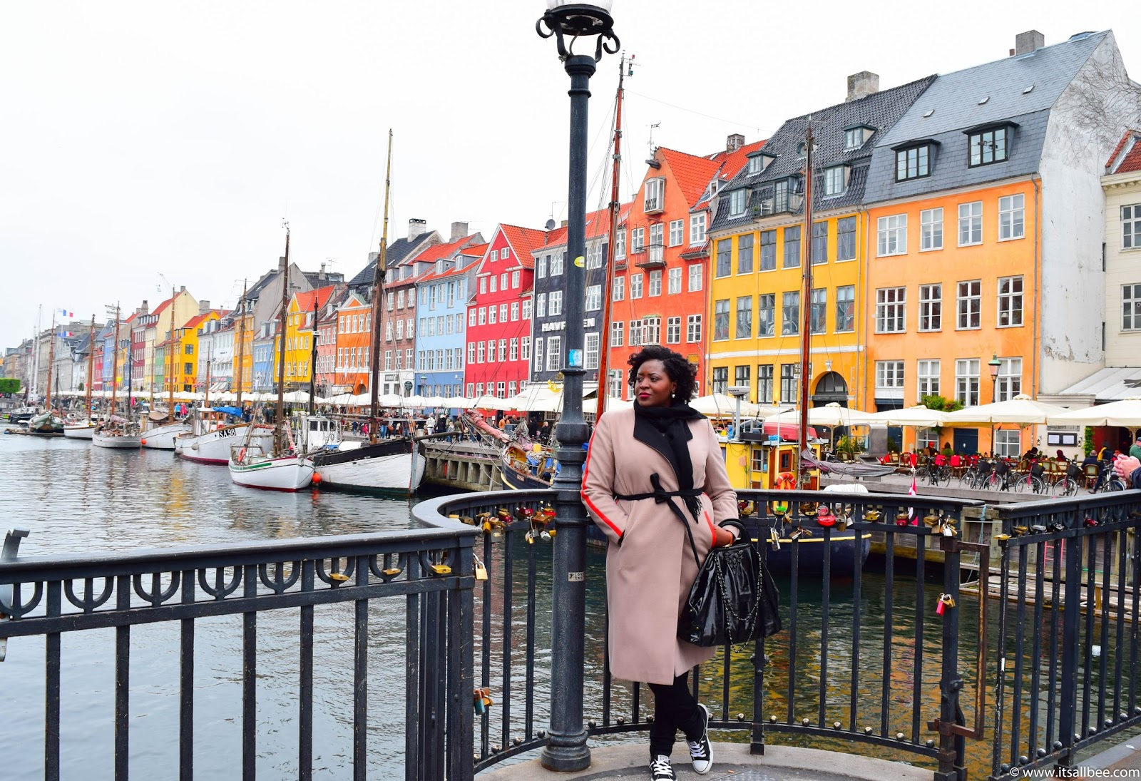 Copenhagen Travel Guide - Places To Visit & Things To Do In Copenhagen #citybreak #europe #winter #traveltips #itsallbee #blogger #adventures #waterside #nyhvan #denmark