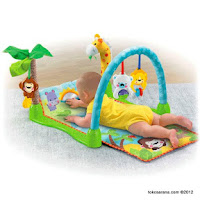 2 Fisher-Price Precious Planet™ MO-2407 Mix and Match Musical Gym