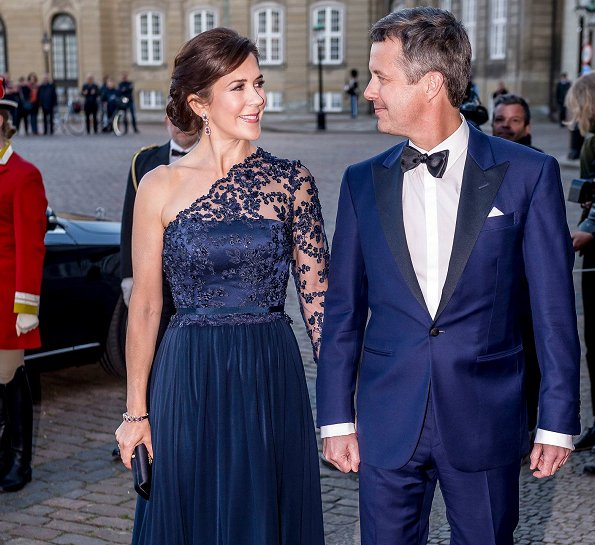 Crown Prince Frederik, Crown Princess Mary, Queen Anne-Marie of Greece, Princess Alexandra and, Princess Nathalie of Berleburg
