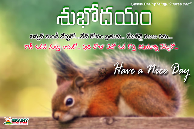 Telugu Quotes, inspirational good morning quotes, good morning images, best telugu good morning wallpapers
