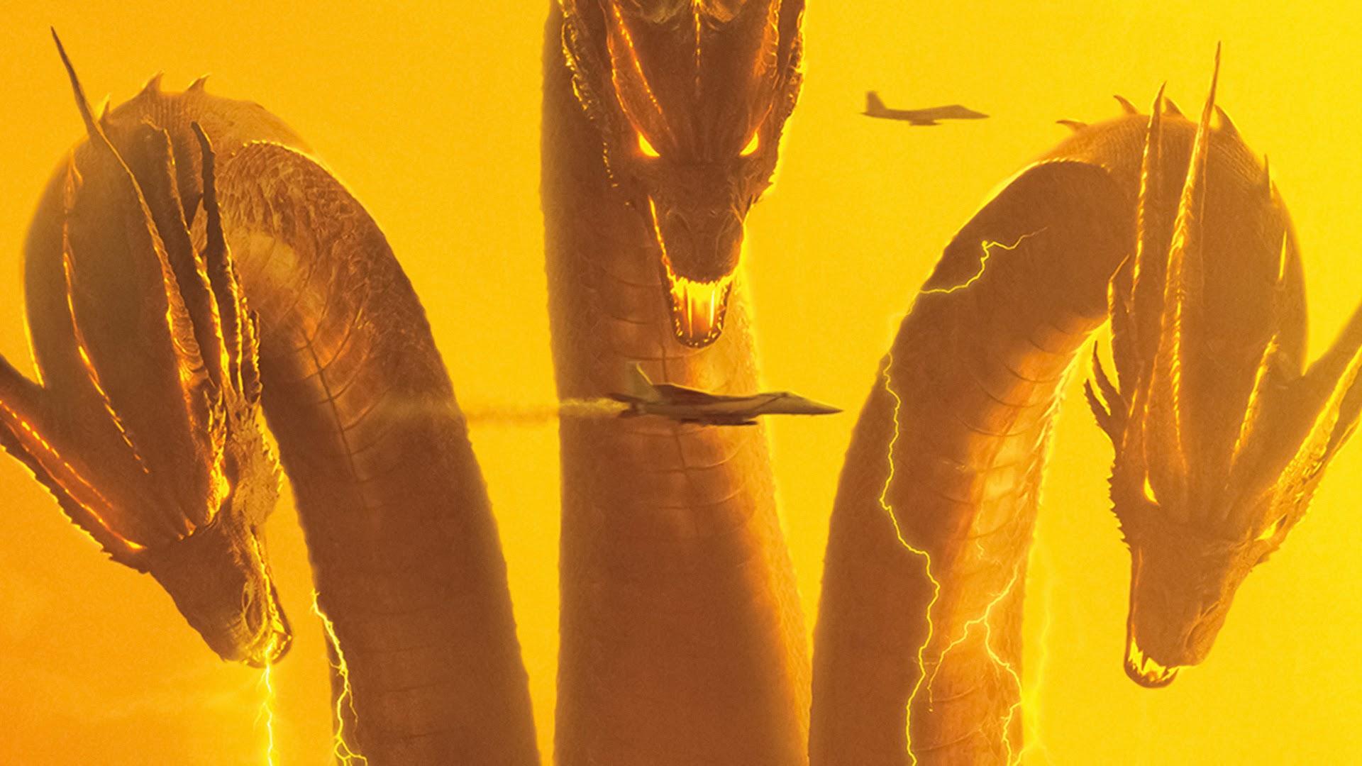 King Ghidorah, Godzilla: King of the Monsters, 4K, #18 ...