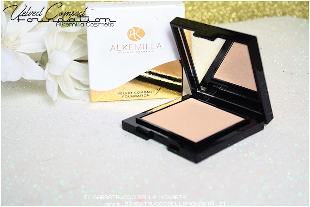 velvet compact foundation, fondotinta compatto in crema alkemilla pareri