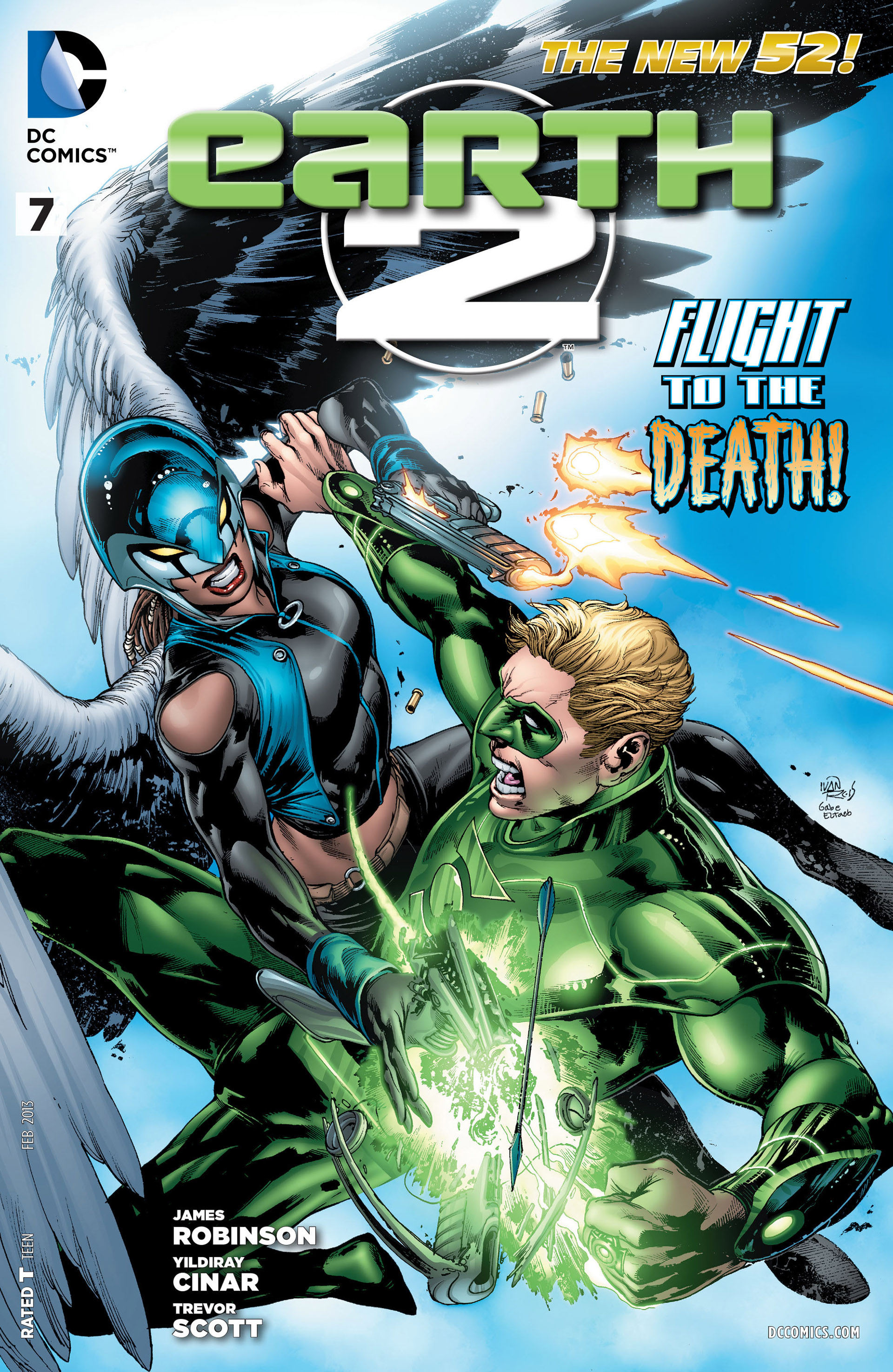 Earth 2 issue 7 - Page 1