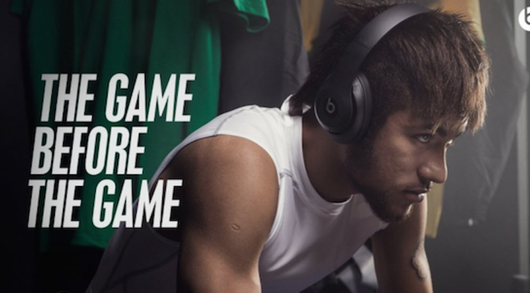 Beats by Dr. Dre, The Game before the Game, Neymar Jr.