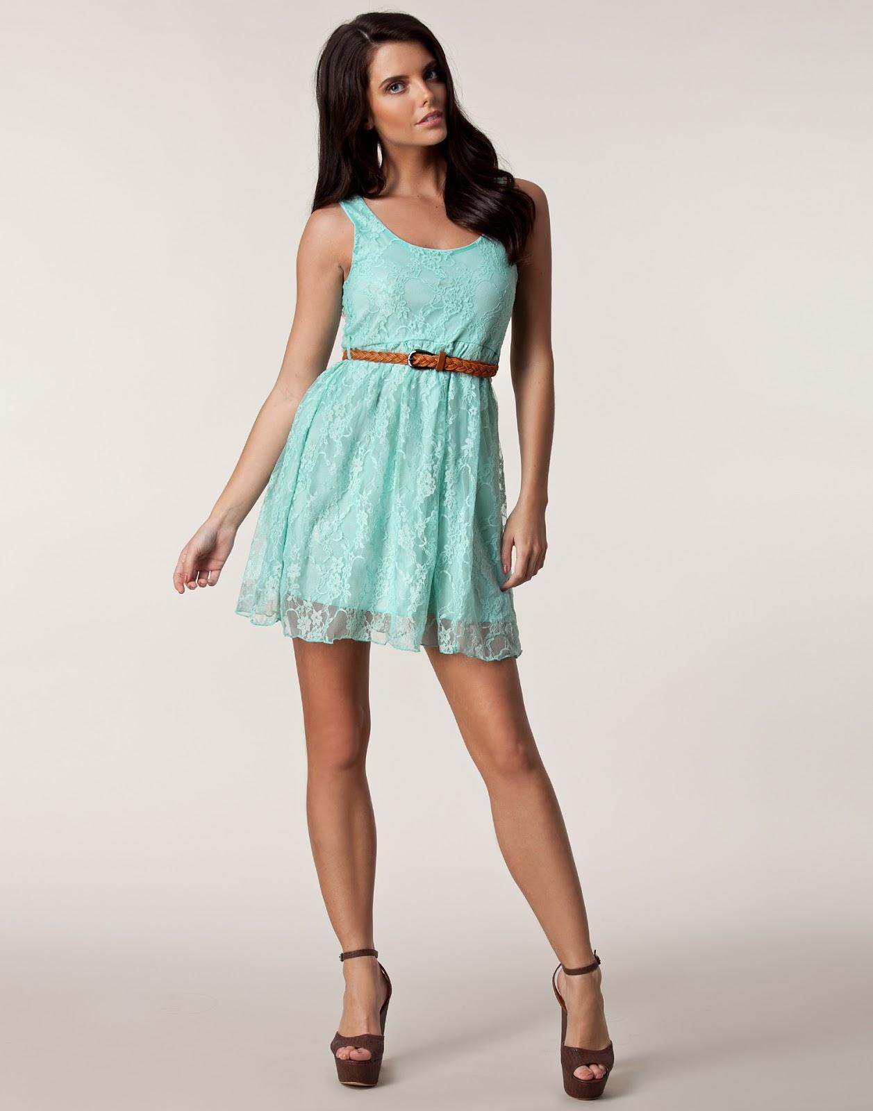 b5e62db10b Vestido azul turquesa casual - Vestidos cortos populares