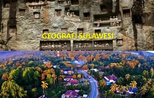 kondisi geografis pulau sulawesi