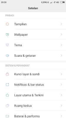 Tutorial Mengatur Lamanya Layar Mati Auto Lockscreen Xiaomi Tutorial Mengatur Waktu Tidur Layar Xiaomi Sesuai Kebutuhan Anda