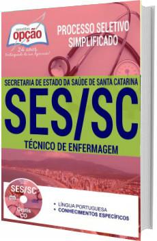 Apostila SES-SC 2017 Técnico de Enfermagem