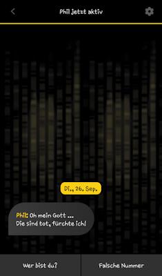 """Erste Entscheidung App """"Operation Helix"""" zum Roman von Marc Elsberg"""