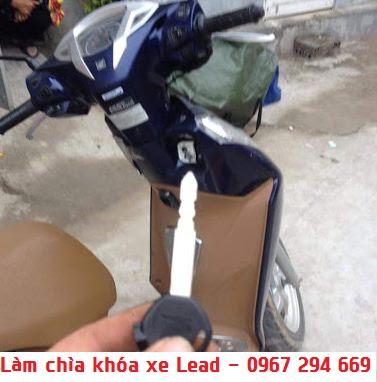 Làm Lại Chìa Khóa Xe Máy Honda Lead Uy Tín Có Bảo Hành -0967 294 669